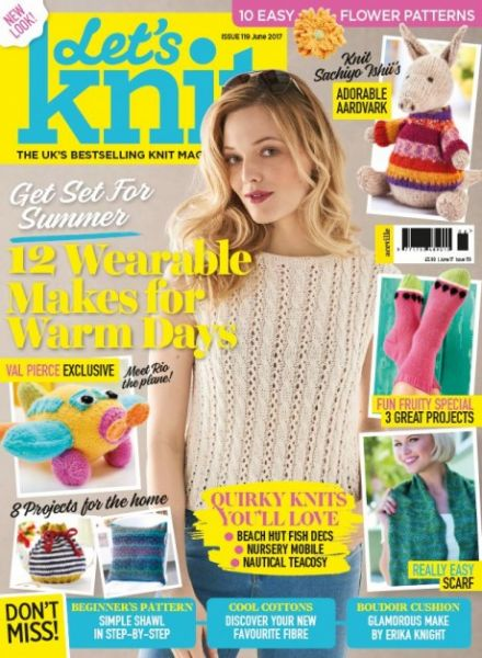 EXCLUSIVE PREVIEW! Let's Knit June, issue 119