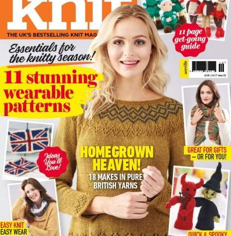 EXCLUSIVE PREVIEW! Let's Knit October, issue 123