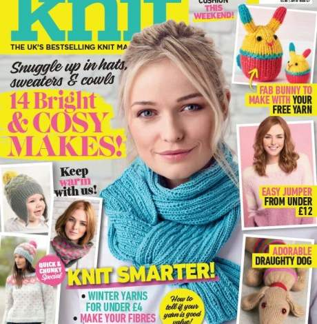 EXCLUSIVE PREVIEW! Let's Knit January 2018, issue 127