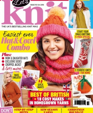 Let's Knit October Issue! Exclusive Preview