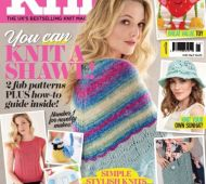 EXCLUSIVE PREVIEW! Let's Knit May, issue 118