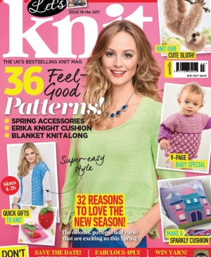 EXCLUSIVE PREVIEW! Let's Knit March, issue 116