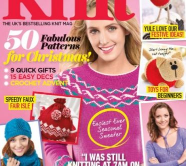 EXCLUSIVE PREVIEW! Let's Knit November, issue 112