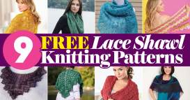 Our Top 9 FREE Lace Shawl Knitting Patterns UPDATED FOR 2018!