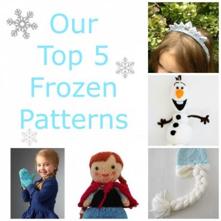 Our top 5 Frozen-inspired patterns