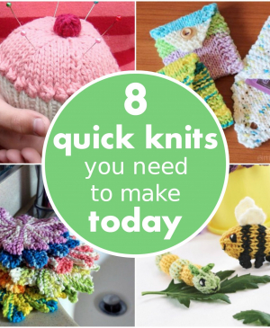 8 quick knits you need to make today