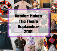 Reader Makes - The September Finale 2018