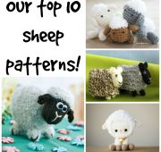 Our top 10 sheep knitting patterns!