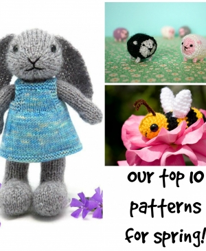 Our top 10 patterns for spring!