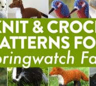 UPDATED FOR 2019! 15 Knit & Crochet Patterns For Springwatch Fans