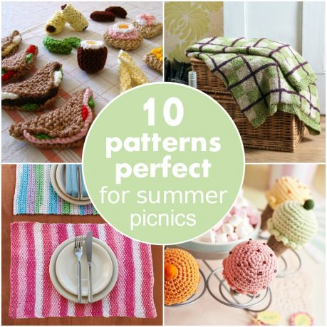 10 patterns perfect for summer picnics