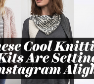 These Cool Knitting Kits Are Setting Instagram Alight