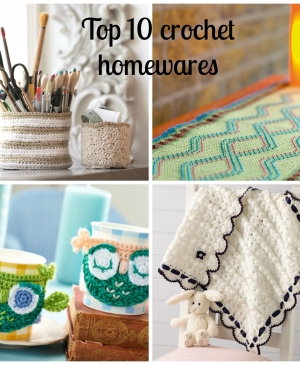 Top 10 crochet homewares