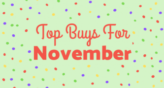 Top Buys For November