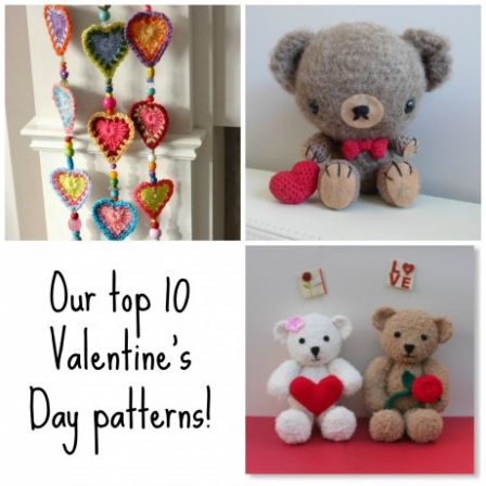 Our top 10 Valentine's patterns