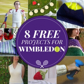 8 FREE projects for Wimbledon