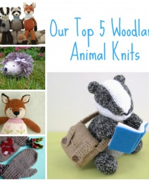 Our Top 5 Woodland Animal Knits