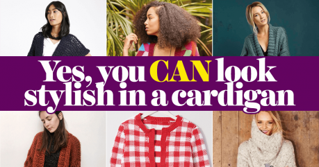 Yes, You CAN Look Stylish in a Cardigan