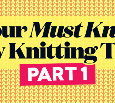 Your Must-Know Toy Knitting Tips - Part 1!
