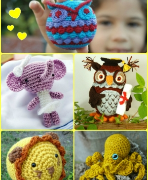 Our top 10 amigurumi animals