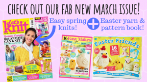 EXCLUSIVE PREVIEW: Let's Knit Issue 142 March 2019