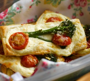 Recipe: Tenderstem, Ricotta and Cherry Tomato Fingers