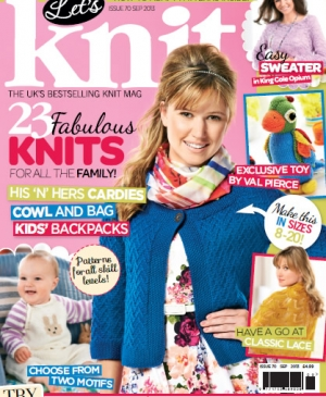 September issue of Let's Knit: out now!