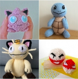 Our Pik(achu) of Pokémon knitting patterns!