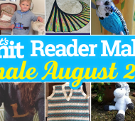 Let's Knit Reader Makes Monthly Finale!