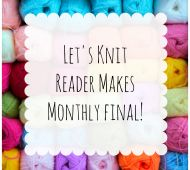 February Reader Makes Monthly Final