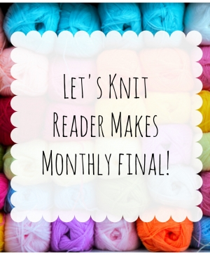 April Reader Makes Monthly Final!