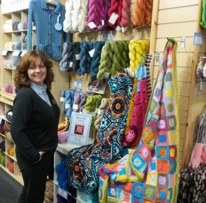 Guest post: Sara from Black Sheep Wools' Craft Barn Gets Ready For Yarn Shop Day!