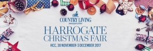 Tickets to Country Living Christmas Fair Harrogate!
