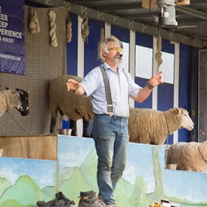 Tickets to Fibre East Wool Show