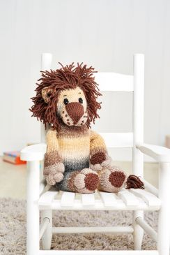 Win the yarn to knit Dillon the Lion