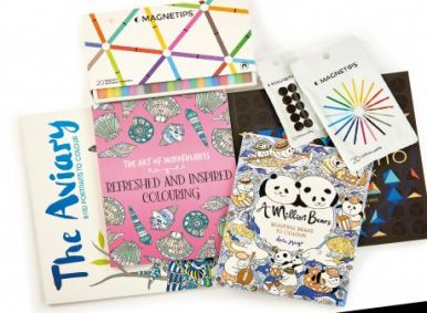 Michael 'O' Mara Colouring Books & Magnetip Pens!