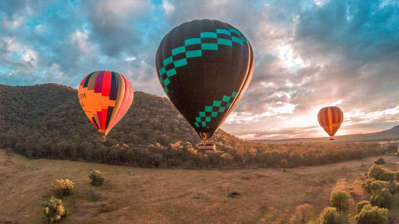 Win A Sunrise Balloon Flight With Champagne Knitting Giveaway