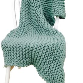 Wool Couture Company's Blanket Knit Kit