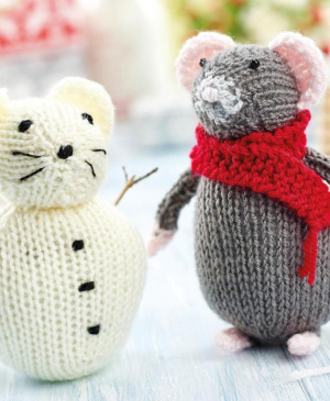 Christmas Mouse and Snow Mouse