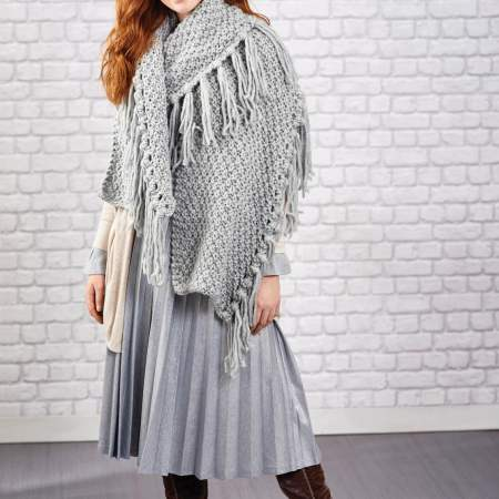 Easy Chunky Scarves   Free Knitting Patterns   Let's Knit ...