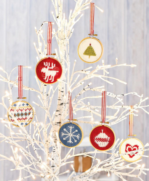 Hoop Christmas Tree Decorations