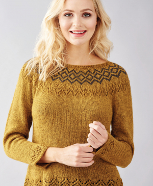 No-Sew Fair Isle Sweater