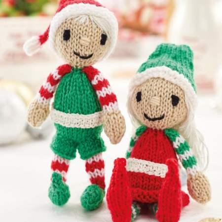 Quick Christmas Elves Knitting Pattern