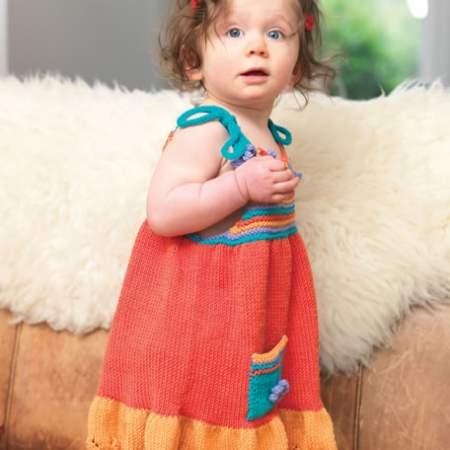 Colorful Little Sundress for Your Precious One