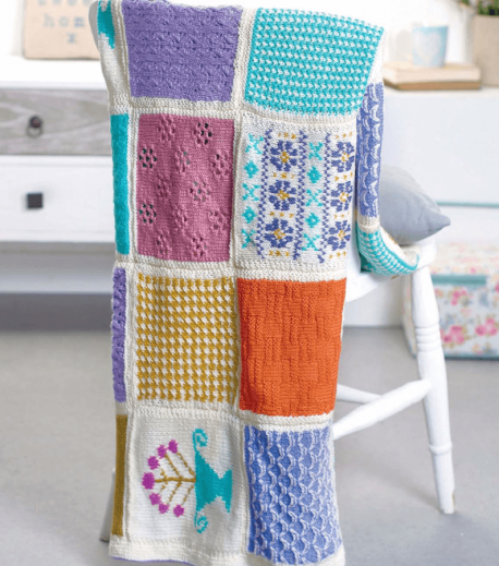 Country Cottage Knitalong Blanket
