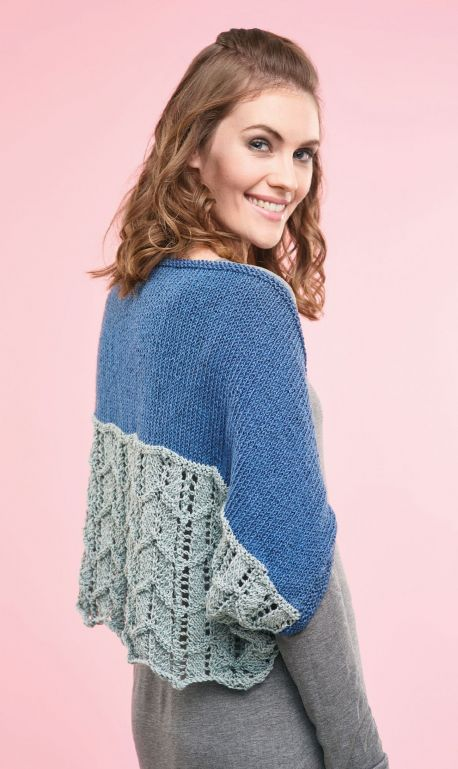 Two way lace shrug