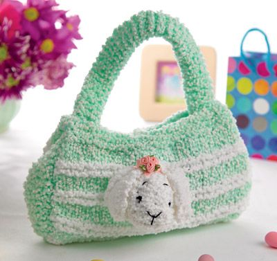Girl's bunny handbag