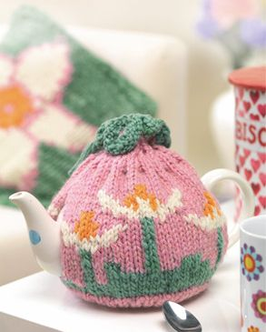 Flower Teacosy & Cushion