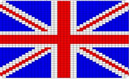 Union Jack Knitting Chart