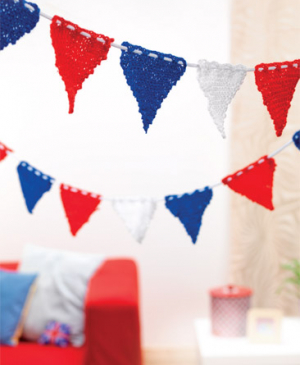 British Red, White & Blue Bunting